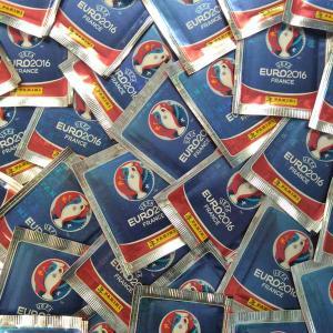 100 Packs, Panini Stickers Euro 2016