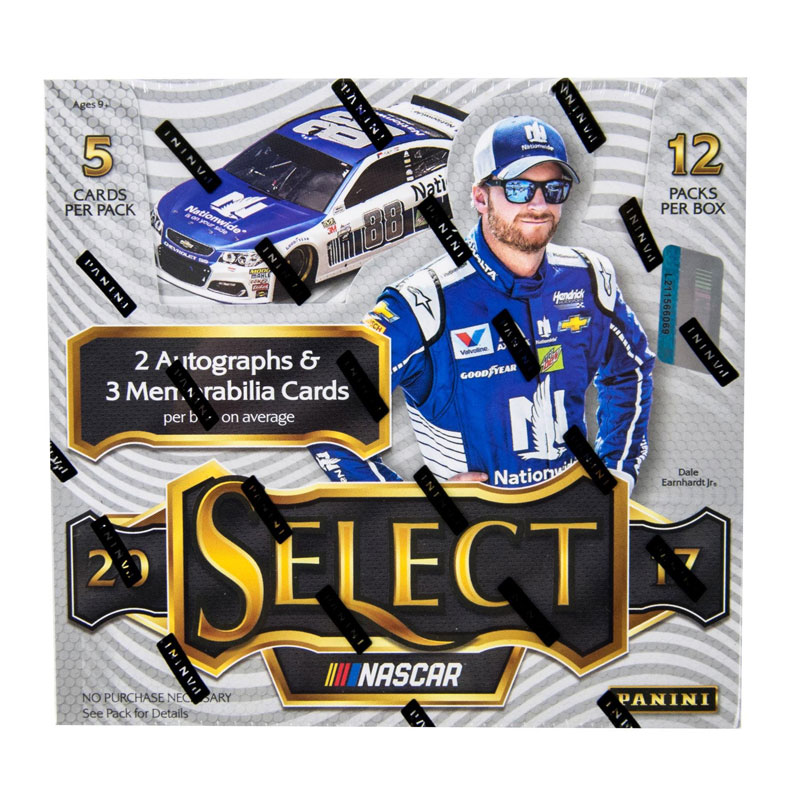 Hel Box 2017 Panini Select Racing Nascar Hobby
