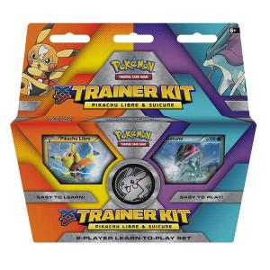 Pokemon, Trainer Kit, Pikachu Libre & Suicine