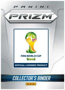 Binder, Panini Prizm, World Cup 2014