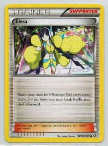 Pokemon, Legendary Treasures, RC20/RC25 - Elesa - Common