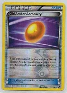 Pokémon, Dark Explorers, Old Amber Aerodactyl - 97/108 - Reverse Holo Uncommon
