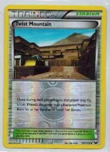 Pokémon, Dark Explorers, Twist Mountain - 101/108 - Reverse Holo Uncommon