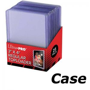 Case: Toploader, regular, 25-pack