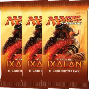 Magic, Rivals of Ixalan, 3 Boosters