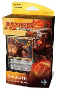 Magic, Rivals of Ixalan, Planeswalker Deck - Angrath, Minotaur Pirate