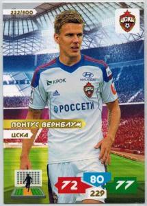 Grundkort, 2013-14 Adrenalyn Ryska Ligan #222 Pontus Wernblom