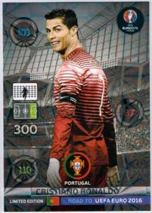 Limited Edition, Adrenalyn Road to Euro 2016, Cristiano Ronaldo