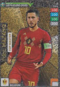 Adrenalyn XL Road to UEFA EURO 2020 #002 Eden Hazard (Belgium) - Top Master