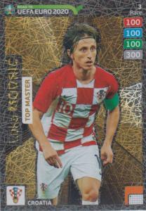Adrenalyn XL Road to UEFA EURO 2020 #003 Luka Modrić (Croatia) - Top Master