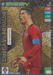 Adrenalyn XL Road to UEFA EURO 2020 #006 Cristiano Ronaldo (Portugal) - Top Master