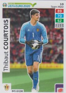 Adrenalyn XL Road to UEFA EURO 2020 #010 Thibaut Courtois (Belgium) - Team Mate