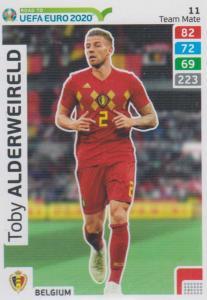 Adrenalyn XL Road to UEFA EURO 2020 #011 Toby Alderweireld (Belgium) - Team Mate