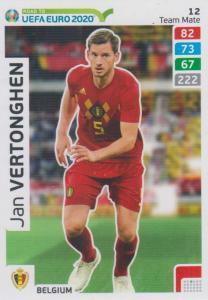 Adrenalyn XL Road to UEFA EURO 2020 #012 Jan Vertonghen (Belgium) - Team Mate