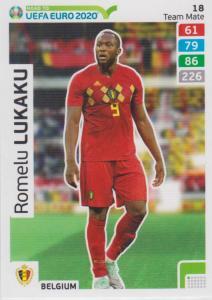 Adrenalyn XL Road to UEFA EURO 2020 #018 Romelu Lukaku (Belgium) - Team Mate