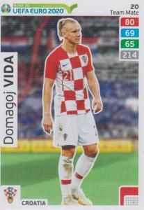 Adrenalyn XL Road to UEFA EURO 2020 #020 Domagoj Vida (Croatia) - Team Mate