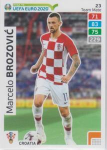 Adrenalyn XL Road to UEFA EURO 2020 #023 Mercelo Brozović (Croatia) - Team Mate
