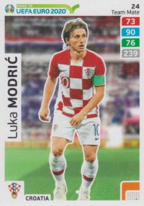 Adrenalyn XL Road to UEFA EURO 2020 #024 Luka Modrić (Croatia) - Team Mate