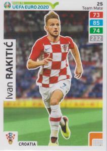 Adrenalyn XL Road to UEFA EURO 2020 #025 Ivan Rakitić (Croatia) - Team Mate