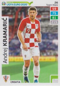 Adrenalyn XL Road to UEFA EURO 2020 #026 Andrej Kramarić (Croatia) - Team Mate