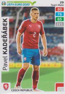 Adrenalyn XL Road to UEFA EURO 2020 #029 Pavel Kadeřábek (Czech Republic) - Team Mate