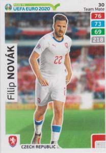 Adrenalyn XL Road to UEFA EURO 2020 #030 Filip Novák (Czech Republic) - Team Mate