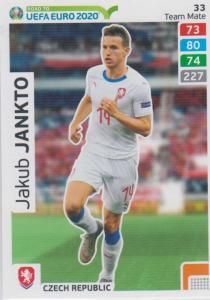 Adrenalyn XL Road to UEFA EURO 2020 #033 Jakub Jankto (Czech Republic) - Team Mate
