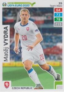 Adrenalyn XL Road to UEFA EURO 2020 #035 Matěj Vydra (Czech Republic) - Team Mate