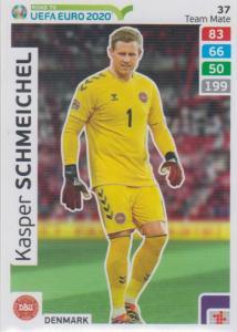 Adrenalyn XL Road to UEFA EURO 2020 #037 Kasper Schmeichel (Denmark) - Team Mate