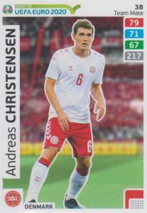 Adrenalyn XL Road to UEFA EURO 2020 #038 Andreas Christensen (Denmark) - Team Mate