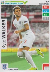 Adrenalyn XL Road to UEFA EURO 2020 #047 Kyle Walker (England) - Team Mate