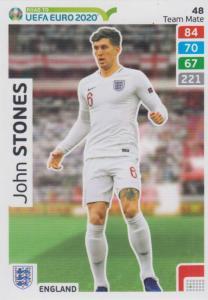Adrenalyn XL Road to UEFA EURO 2020 #048 John Stones (England) - Team Mate