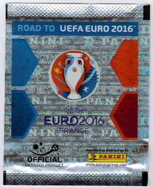 Panini Stickers Road to Euro 2016, Pack (5 Stickers)