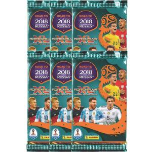 6 Packs, Panini Adrenalyn XL Road to World Cup Russia 2018