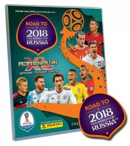 1st Pärm (A4), Panini Adrenalyn XL Road to World Cup Russia 2018