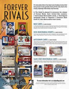 Sealed Box 2012-13 ITG Forever Rivals