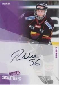 2014-15 SHL s.2 Rookie Signatures #2 Robin Norell Djurgården