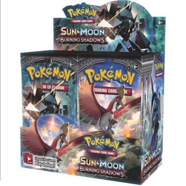 Pokémon, SM Burning Shadows, Display / Booster Box