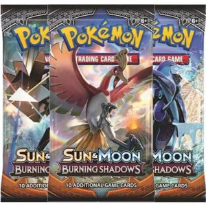 Pokémon, SM Burning Shadows, 3 Boosters