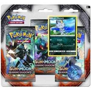 Pokémon, SM Burning Shadows, Trippelblister: Alolan Meowth