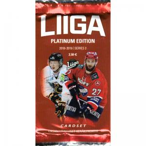 1st Paket 2018-19 Finska Liiga s.2 Platinum Edition