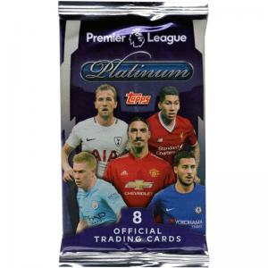 1st Paket 2017-18 Topps Platinum Soccer Premier League