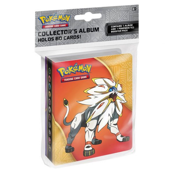 Pokémon, Sun & Moon, Collector's Album - 1 Pocket (ink. booster-pack!)