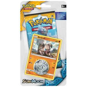 Pokémon, Sun & Moon, 1 Checklane Blister Pack: Rockruff