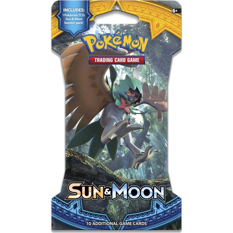 Pokémon, Sun & Moon, 1 Sleeved Booster [Random art på sleeven]