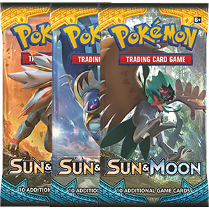 Pokémon, Sun & Moon, 3 Boosters