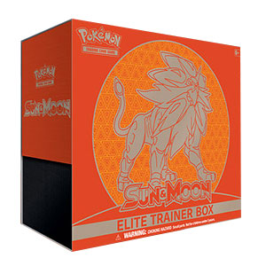 Pokémon, Sun & Moon, Elite Trainer Box: Solgaleo
