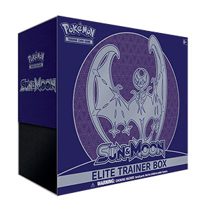 Pokémon, Sun & Moon, Elite Trainer Box: Lunala