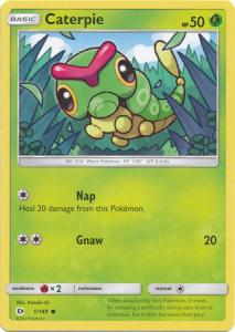 Sun & Moon (Base Set), Caterpie - 1/149 - Common