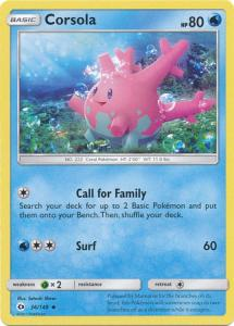 Sun & Moon (Base Set), Corsola - 36/149 - Uncommon